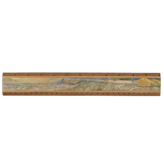 Landscape at Saint-Rémy ; Vincent Van Gogh Ruler