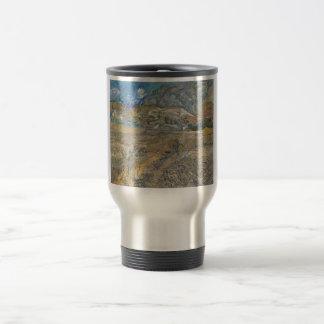Landscape at Saint-Rémy ; Vincent Van Gogh Travel Mug