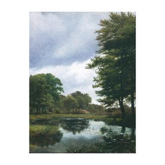 Landscape at Silkeborg, 1833 Canvas Print