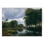 Landscape at Silkeborg, 1833 Greeting Card