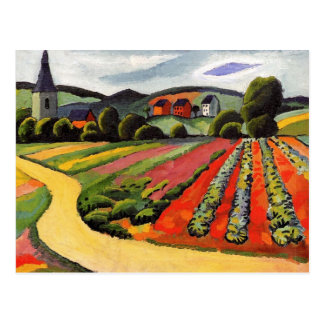 Landscape at the Tegernsee by August Macke Postcard