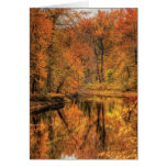 Landscape - Autumn in New Jersey Greeting Card