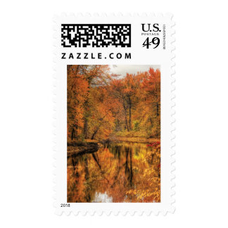 Landscape - Autumn in New Jersey Postage Stamps