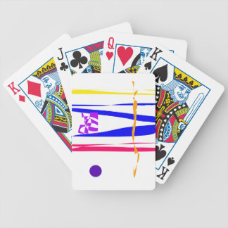 Landscape Bicycle Playing Cards