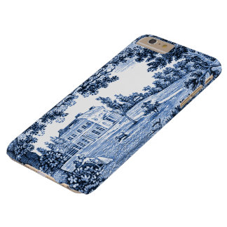Landscape Blue Victorian Home Barely There iPhone 6 Plus Case