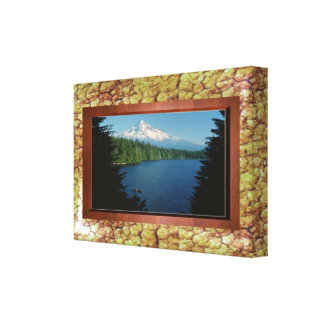Landscape border for art or photos wrapped print stretched canvas prints