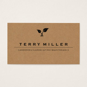 Gardening Business Cards Aprildearest