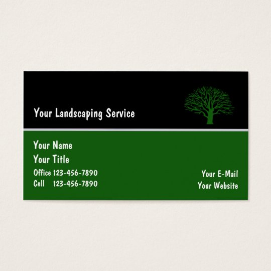 Landscape Business Cards_6 Business Card