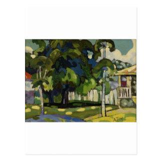 Landscape by Arman Manookian c. 1920's Postcards