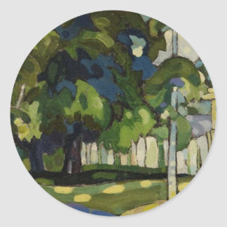 Landscape by Arman Manookian c. 1920's Stickers