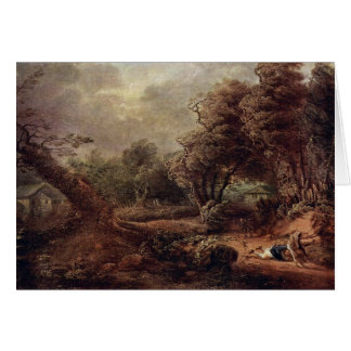 Landscape By Brinckmann Philipp Hieronymus Greeting Card