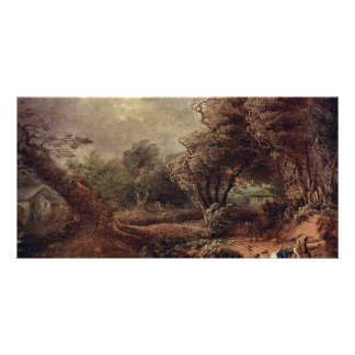 Landscape By Brinckmann Philipp Hieronymus Personalized Photo Card