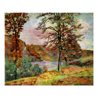 Landscape by Guillaumin Poster