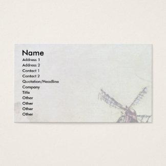 Landscape By Jongkind Johan Barthold (Best Quality Business Card
