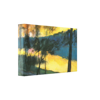Landscape by Lesser Ury Gallery Wrapped Canvas