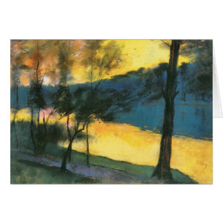 Landscape by Lesser Ury Stationery Note Card