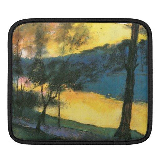 Landscape by Lesser Ury iPad Sleeve