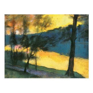 Landscape by Lesser Ury Postcard