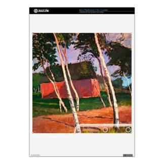 Landscape by Paula Modersohn-Becker PS3 Slim Decals