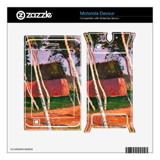 Landscape by Paula Modersohn-Becker Skin For Motorola Devour