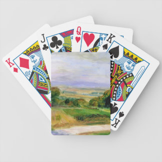 Landscape by Pierre-Auguste Renoir Playing Cards