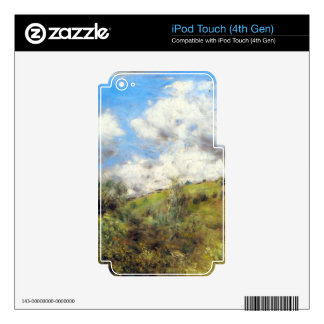Landscape by Pierre Renoir Decals For iPod Touch 4G