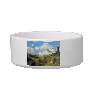 Landscape by Pierre Renoir Cat Food Bowls