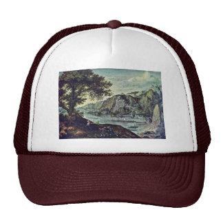 Landscape By Valckenborch Lucas Van (Best Quality) Mesh Hats