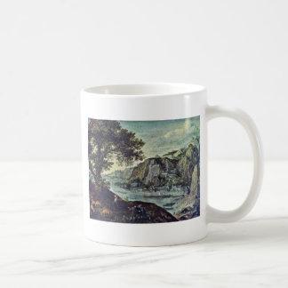 Landscape By Valckenborch Lucas Van (Best Quality) Mugs