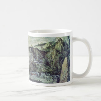 Landscape By Valckenborch Lucas Van (Best Quality) Mug