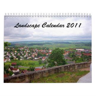 Landscape Calendar 2011