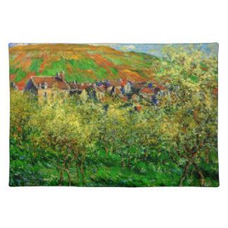 """Landscape Claude Monet Placemats 20"""" x 14"""""""
