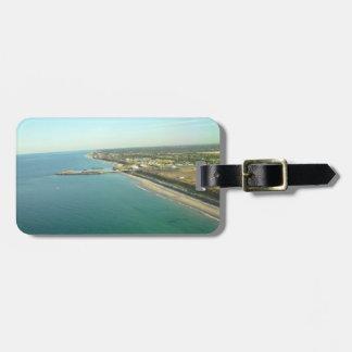 Landscape Coastline Travel Bag Tag