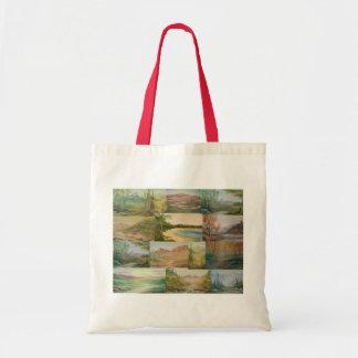 Landscape Collage Tote Bag