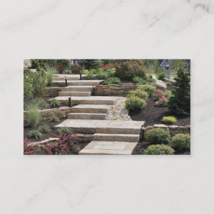 landscape company business card