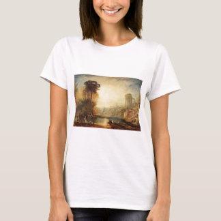 Landscape Composition of Tivoli by William Turner T-Shirt