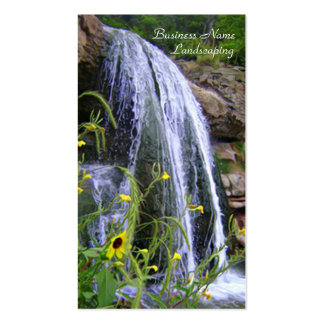 Landscape Contractors Architects Business Card Template