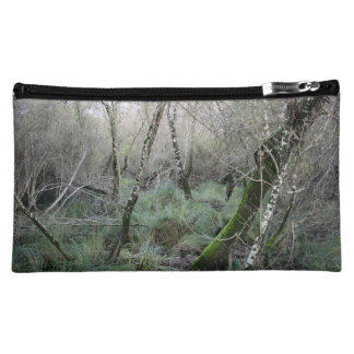 Landscape cork oaks and nature in Doñana, Spain Cosmetic Bag