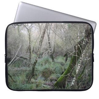 Landscape cork oaks and nature in Doñana, Spain Laptop Sleeve
