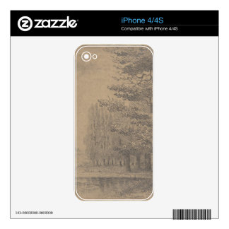 Landscape creation of Jesus Christ Decals For iPhone 4