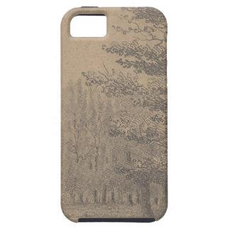 Landscape creation of Jesus Christ iPhone SE/5/5s Case