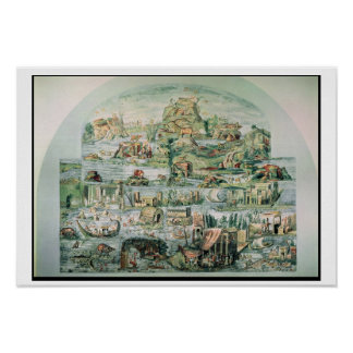 Landscape crossed by the Nile, Palestrina, 2nd-3rd Poster