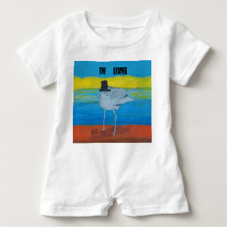 Landscape design with the Leader of the Seagulls. Baby Romper