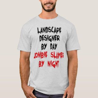 Landscape Designer Zombie Joke T-Shirt
