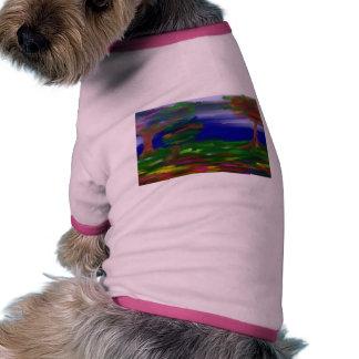 landscape dog tee