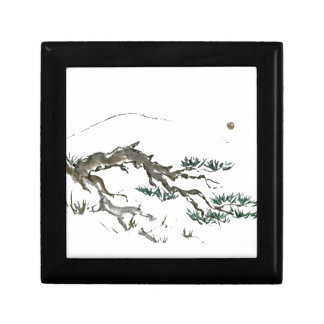 Landscape; Dwarf Cascading Mountain Pine Keepsake Box