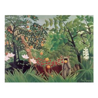 Landscape exótico, 1910 tarjetas postales