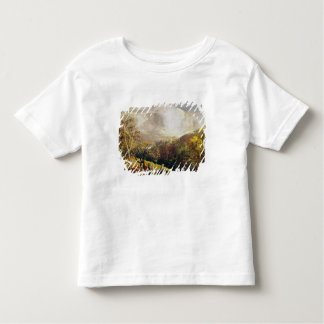 Landscape, figures and cattle toddler t-shirt
