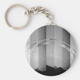 Landscape Fracture Keychain