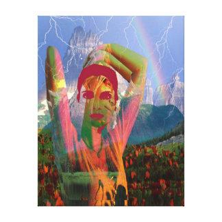 Landscape Fusion Canvas Print